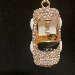 NWT Betsey Johnson car necklace